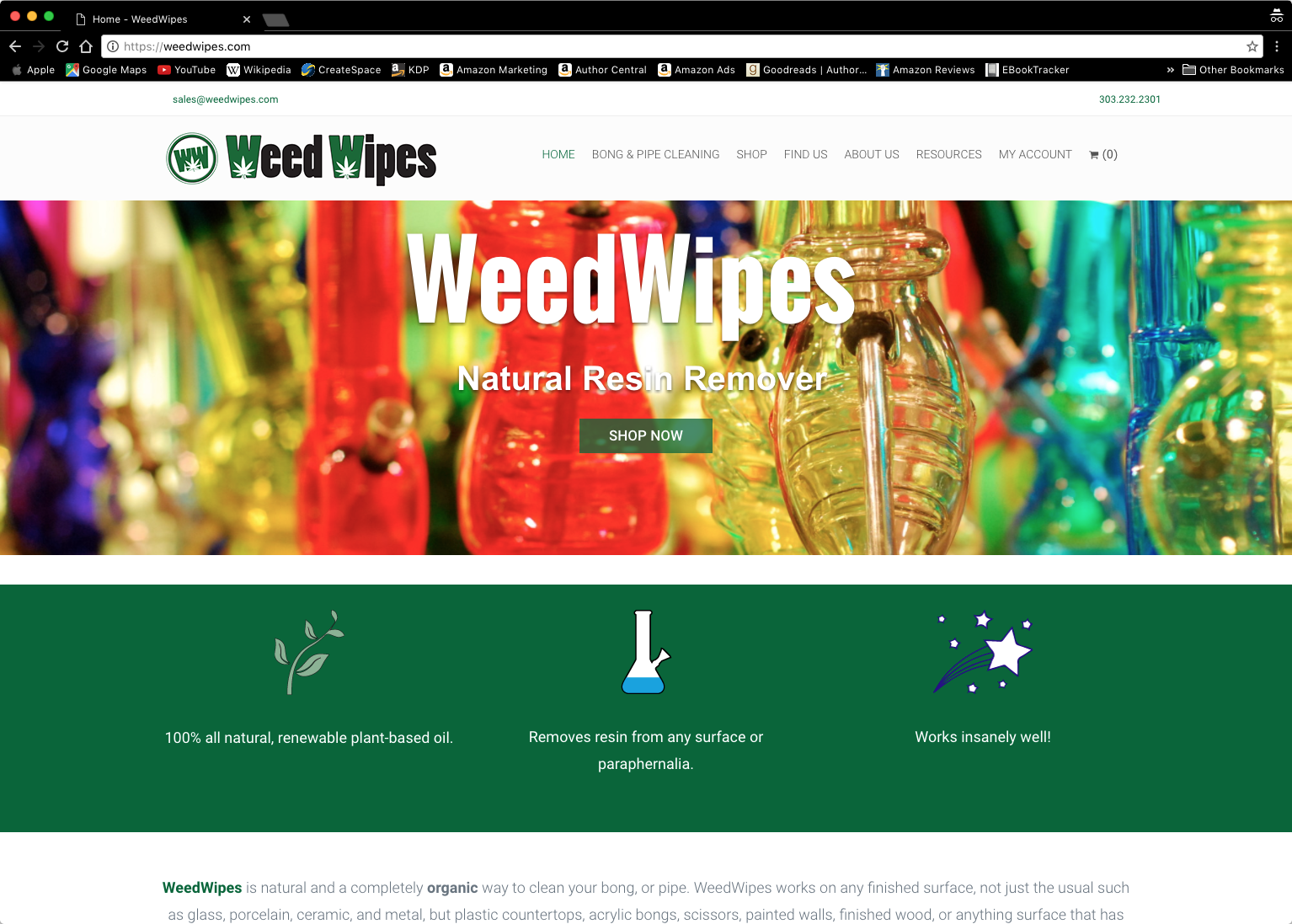 Spider Trainers' gallery: weedwipes.com (image)