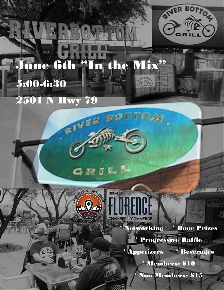 "June ""In the Mix"" at the River Bottom Grill @ River Bottom Grill 