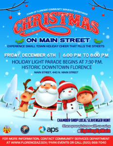 Christmas on Main Street @ Downtown Florence | Florence | Arizona | United States