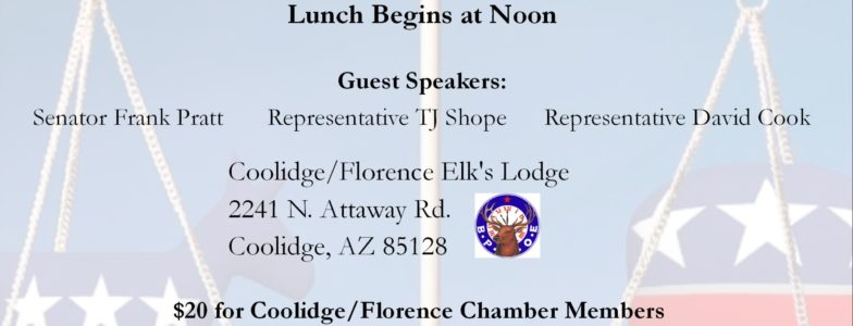Florence & Coolidge Chamber Member Luncheon