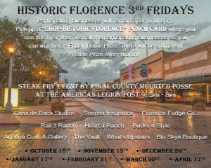 Historic Florence 3rd Fridays @ Historic Downtown Florence | Florence | Arizona | United States