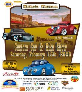 Memories on Main Car Show @ Historic Florence Arizona | Florence | Arizona | United States