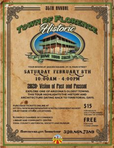 35th Annual Historic Home Tour @ Historic Florence Arizona | Florence | Arizona | United States