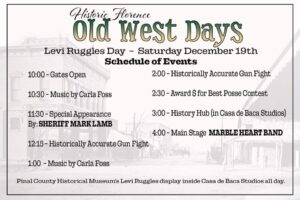 Old West Days @ Main St. Florence Arizona