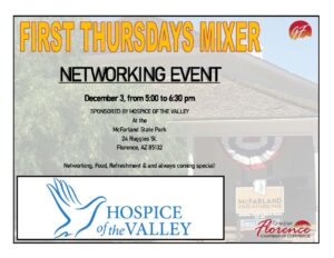 First Thursday's Mixer @ McFarland State Park | Florence | Arizona | United States